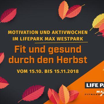 Motivation und Aktivwochen im LIFEPARK MAX im Westpark