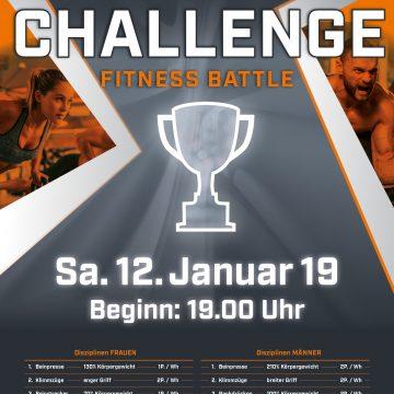 CHALLENGE · Fitness Battle im LIFEPARK MAX Westpark