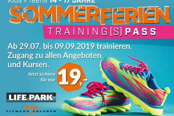 Sommerferien Training(S)Pass