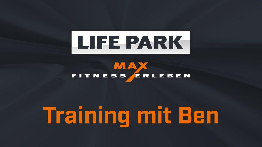 Training mit Ben