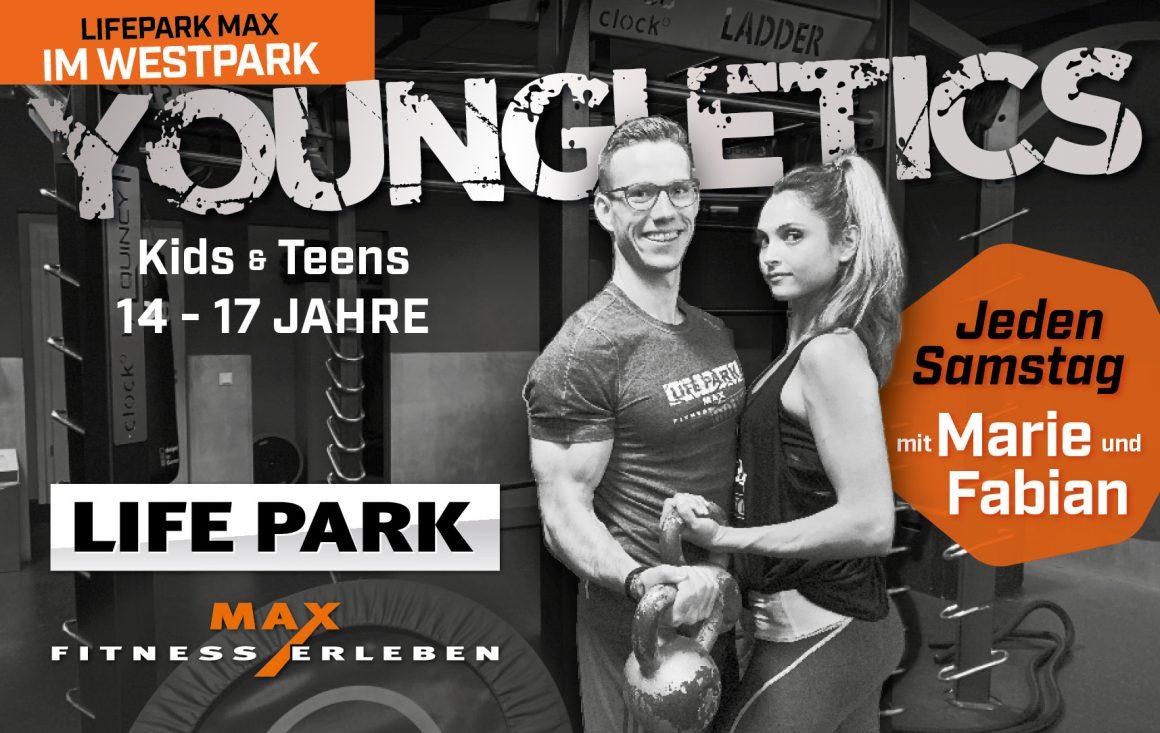 Youngletics im LIFEPARK MAX im Westpark