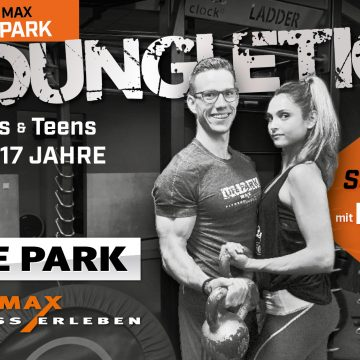Youngletics im LIFEPARK MAX im Westpark